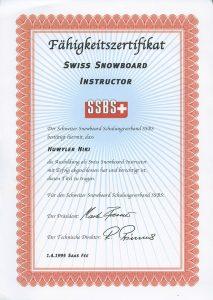 Mein erstes Diplom vom SSBS