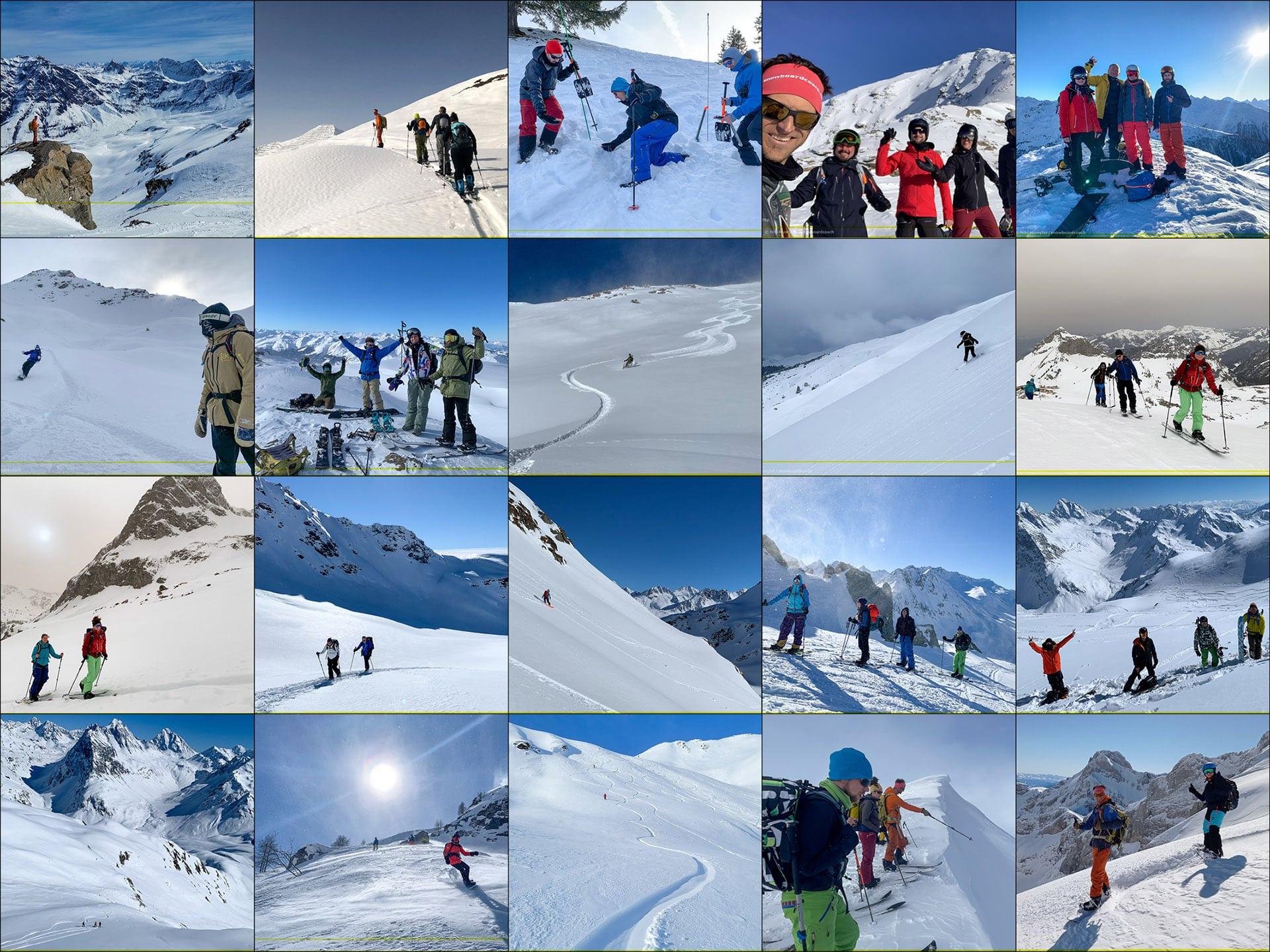 snowboardcoach Touren
