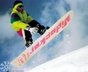 1990 - Eines meiner ersten jump Fotos