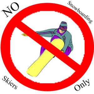 no-snowboarding