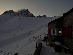 SAC Hütten Übernachtung